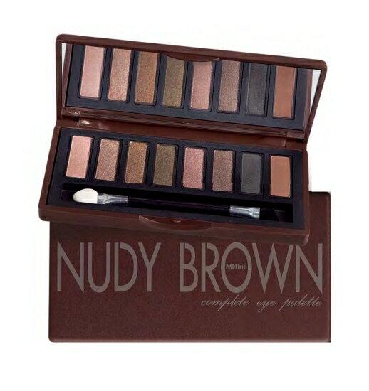 【泰國Mistine】nudy brown大地色8色眼影盤