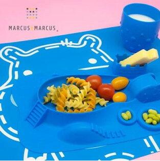 加拿大【Marcus&Marcus】動物樂園矽膠餐墊