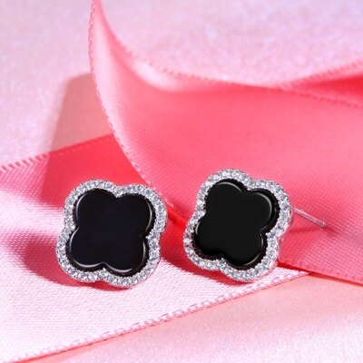 ~925純銀耳環鑲鑽耳飾~閃耀迷人 生日情人節 女飾品2款73dz57~ ~~米蘭 ~