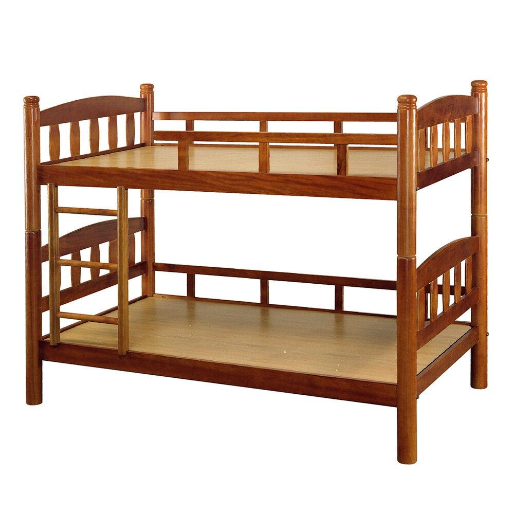 【全館現貨 下殺45折起】漢克實木3.5尺直板圓柱雙層床(不含床墊)專人組裝 宿舍公寓 上下舖 兒童床 台灣製 原森道