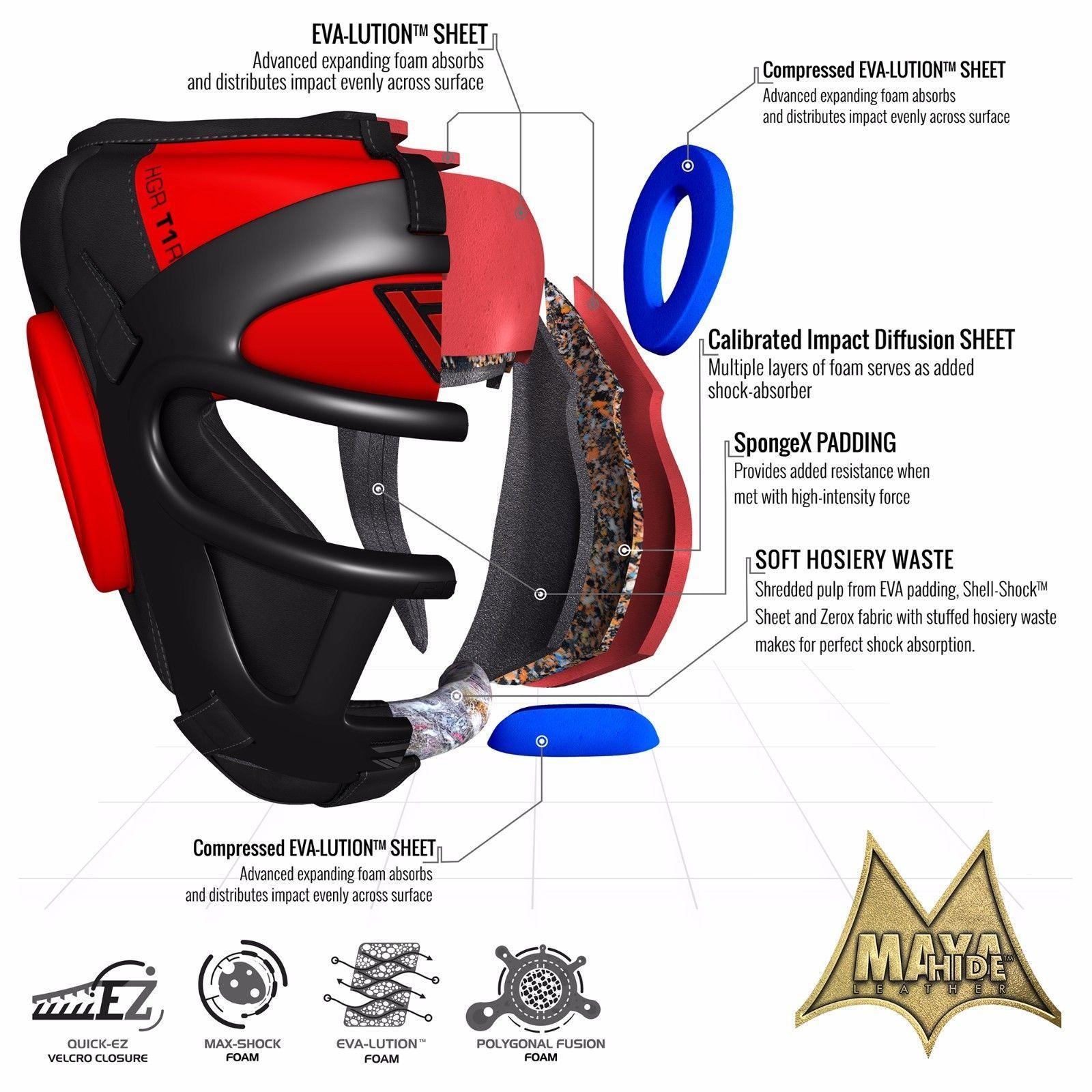RDX Head Guard Ladies Boxing MMA Martial Arts Gear Protector Kick Training