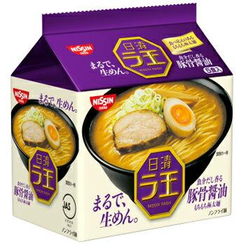 有樂町進口食品  泡麵賞  日清 麵王 豚骨醬油 5包入 4902105107263 0
