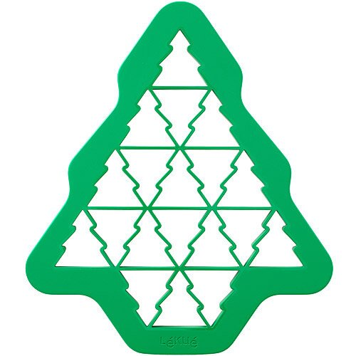 《LEKUE》拼圖餅乾模(聖誕樹)