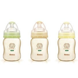 Simba小獅王辛巴 PPSU寬口徑葫蘆小奶瓶200ml(單支) S6186※三色隨機出貨※