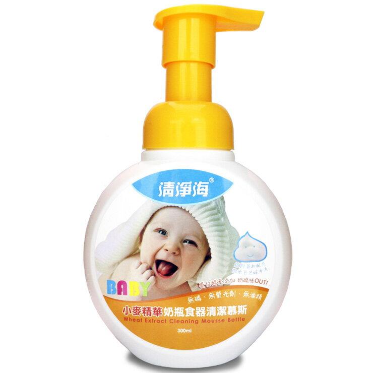 清淨海 小麥精華奶瓶食器清潔慕斯 300ml