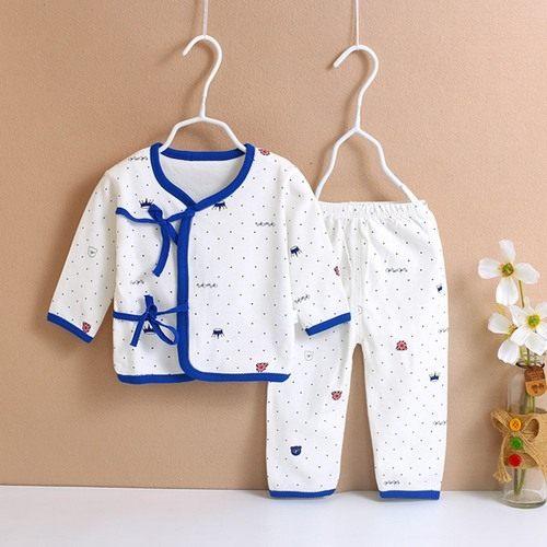 長袖套裝新生兒肚衣套裝0-3M嬰兒內衣寶寶童裝ZH1128好娃娃
