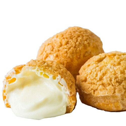 法式牛奶泡芙10入/盒  人氣團購 點心 甜點 泡芙
