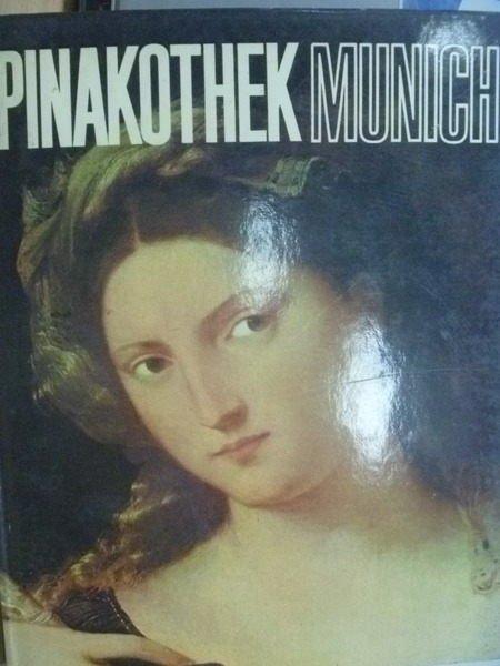 ~書寶 書T9/藝術_ZJE~Pinakothek Munich_世界美術館全集13慕尼黑