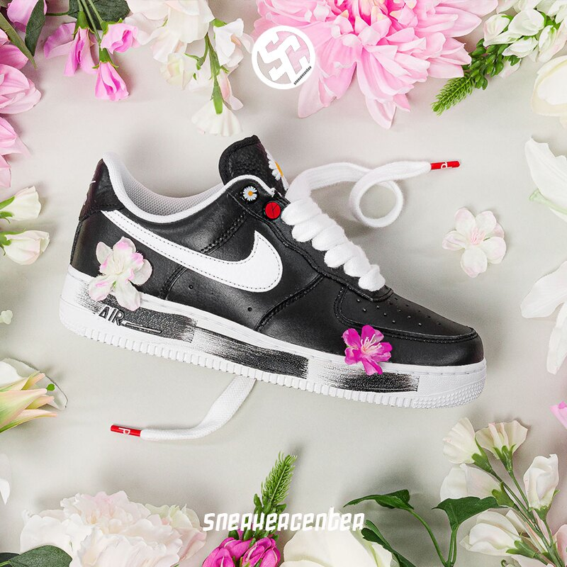 KUMO SHOES-現貨Nike Air Force 1 G-Dragon Peaceminusone 塗鴉 AQ3692-001