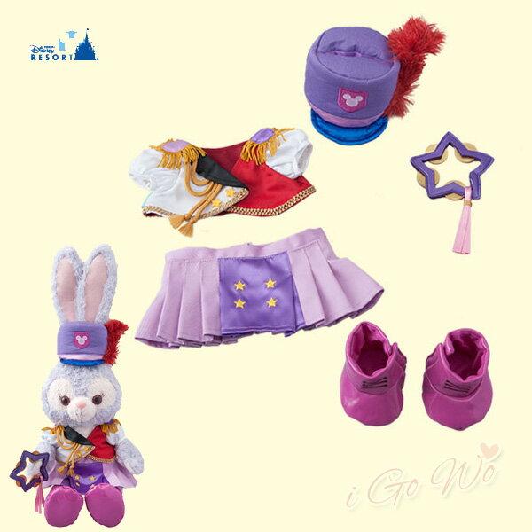 日本Disney史黛拉兔服裝遊行歡樂系列ぬいぐるみバッジ