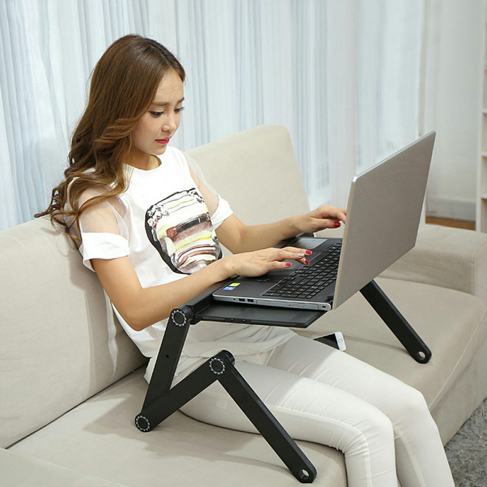 360 Degree Adjustable Foldable Laptop Notebook Desk Table 6