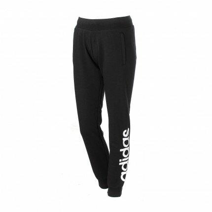 [尋寶趣] Adidas 女款 棉質 縮口 長褲 女 黑 BK5235