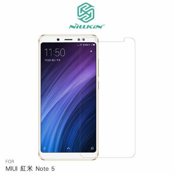 【愛瘋潮】99免運 NILLKIN MIUI 紅米 Note 5 超清防指紋保護貼 套裝版 含超清鏡頭貼