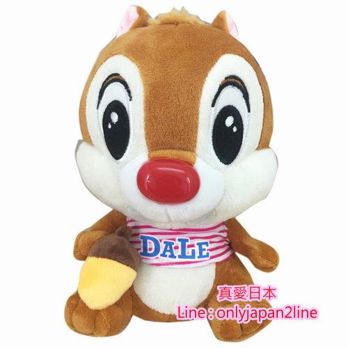 【真愛日本】160913000047吋吊娃-T恤蒂蒂拿栗子    迪士尼 花栗鼠 奇奇蒂蒂 松鼠 娃娃 吊飾