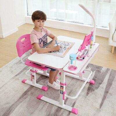 書桌 兒童學習桌多功能寫字桌臺小學生作業書桌可升降小孩桌椅組合套裝 領券下定更優惠