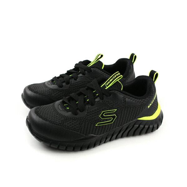 HUMAN PEACE:SKECHERS運動鞋童鞋黑色97661LBCCLno777
