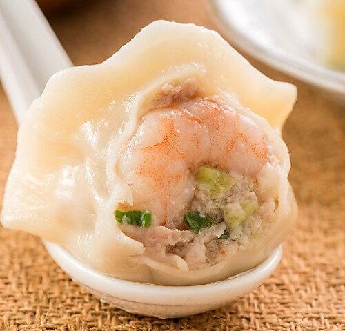 高麗菜鮮蝦水餃(20粒)~一戶手作水餃~高麗菜的蔬脆 蝦子的鮮甜