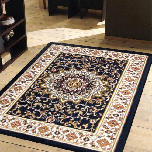 紅寶石波斯宮廷風絲質地毯-璀耀50x70cm