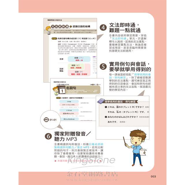 看圖學會日本語文法:30天學會「東京日本語專門學校」文法精華(書+1MP3) 3