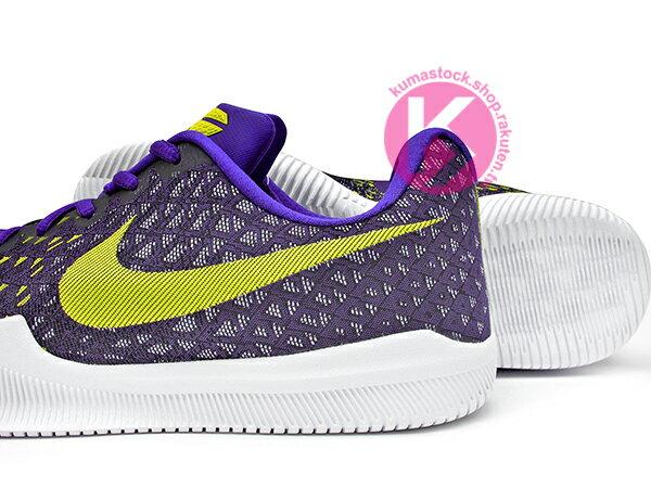 2017 最新款 Kobe Bryant 代言子系列 中價位籃球鞋 NIKE MAMBA INSTINCT EP 低筒 紫黃 HYPERFUSE 透氣鞋面 緩震鞋墊 籃球鞋 湖人 KB MENTALITY 後繼款 (884445-500) 0217 3