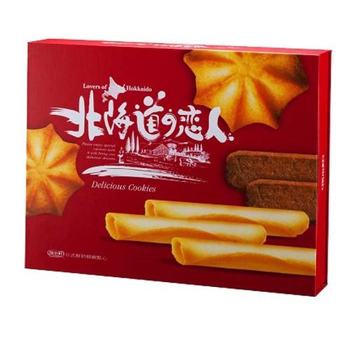 掬水軒 北海道戀人禮盒 日式鮮奶精緻點心 480g