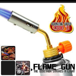 卡式瓦斯口小型噴火槍(噴火器.點火槍.瓦斯噴槍.噴燈.野炊.生火.烤肉.工藝模型.小型焊接.加溫解凍.烘焙.特價.推薦)P086-AC7005