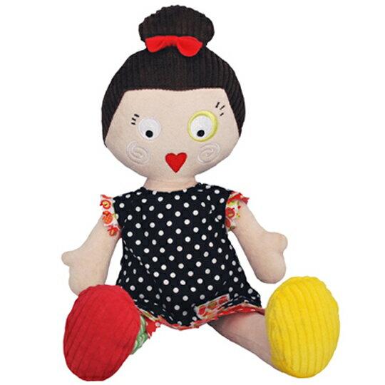 【全新品3折出清】法國【 DEGLINGOS 】人型布偶 - 露西 Les Mistinquettes Pop Lucette