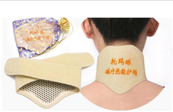 倖葳:💜B173●托瑪琳磁療熱能護頸暖暖的秋冬不縮頸嘍~給脖子穿上小衣服喔~