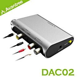 Avantree 音源轉換器 【DAC02】 數位類比 同軸/光纖 轉RCA/3.5mm音頻 適用 新風尚潮流