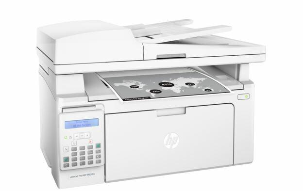 HP M130fn 黑白雷射傳真複合機【傳真/影印/列印/掃描】