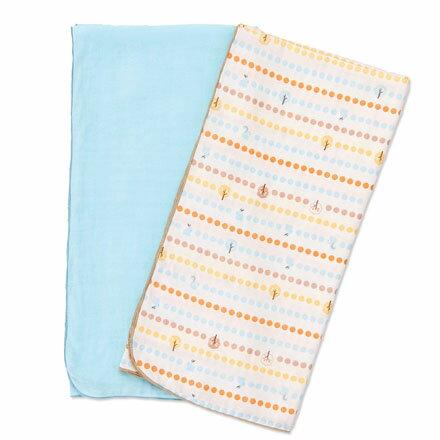 奇哥 快樂森林紗布大包巾 (2入)【悅兒園婦幼生活館】 0