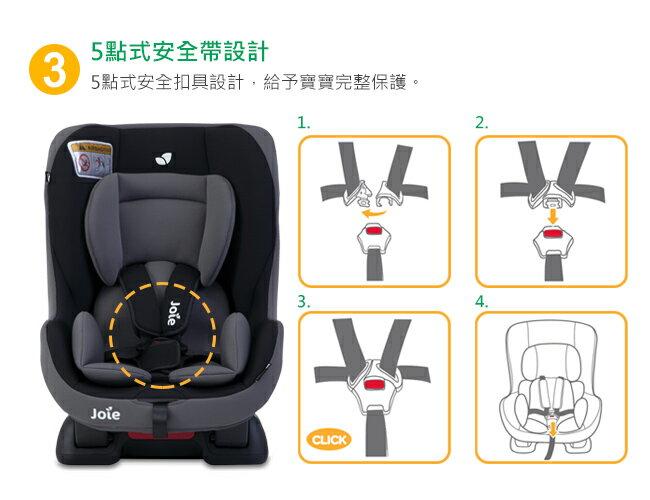 現貨到【奇哥Joie】tilt 0-4歲雙向汽車安全座椅-紅黑 / 灰黑 好窩生活節 6