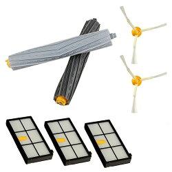 iRobot Roomba 800 900系列(860 890 895 960)掃地機器人配件組 主刷+邊刷+濾網