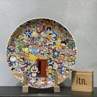 小叮噹週邊商品推薦村上隆 2017 東京 哆啦A夢 展覽會 限定 瓷盤