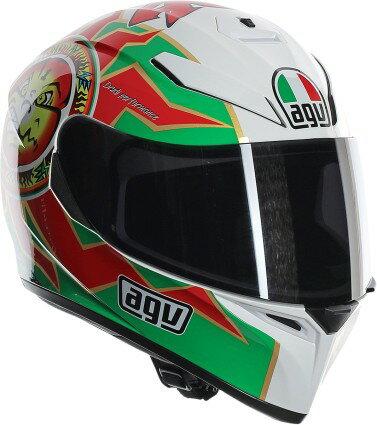 AGV K3 SV Rossi Imola Full Face Helmet Green/White/Red SM 255dd58e2aa02bafbcc13e21ac328c8a
