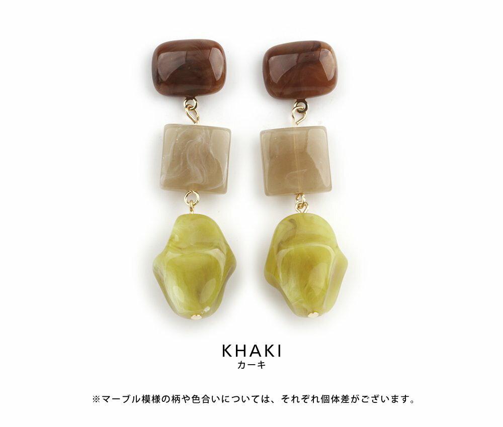 日本CREAM DOT  /  復古天然石穿孔耳環  /  qc0471  /  日本必買 日本樂天直送(1490) 3