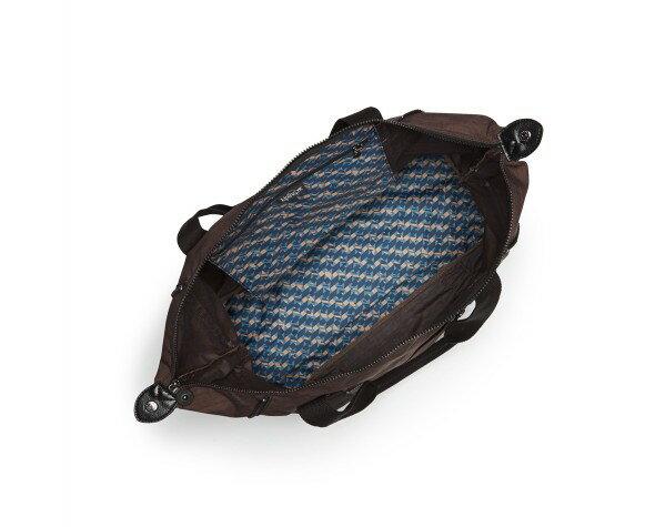 OUTLET代購【KIPLING】旅行袋 斜揹包 肩揹包 媽媽包 咖啡色 2