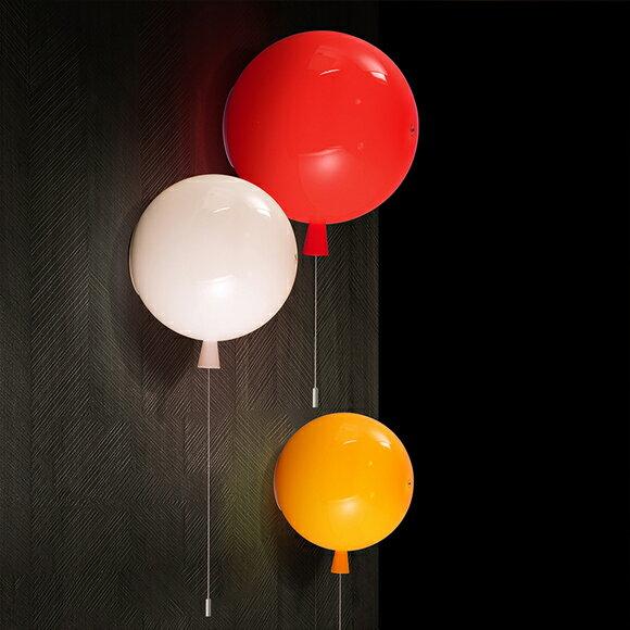 【威森家居】北歐 彩色氣球壁燈 現貨原木工業風現代簡約復古吸頂燈吊燈壁燈大廳客廳臥室陽台燈具LED設計師 L170207