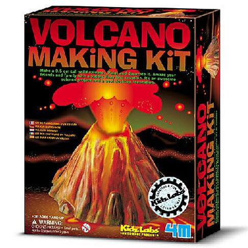【4M 創意 DIY】Volcano Making Kit 科學系列之火山爆發