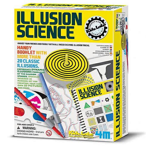~4M  DIY~Illusion Science 幻象魔術師