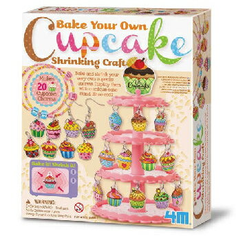 ~4M  DIY~Bake It^!Shrink It^!Cupcake Charms 烤