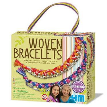 【4M 創意 DIY】Woven Bracelets 好朋友藝術編織手環