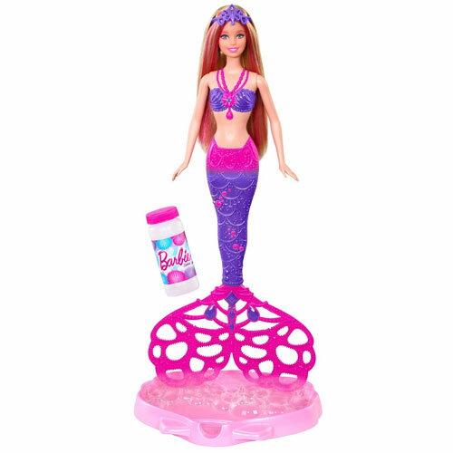 ~芭比娃娃系列~芭比泡泡人魚公主 CFF49