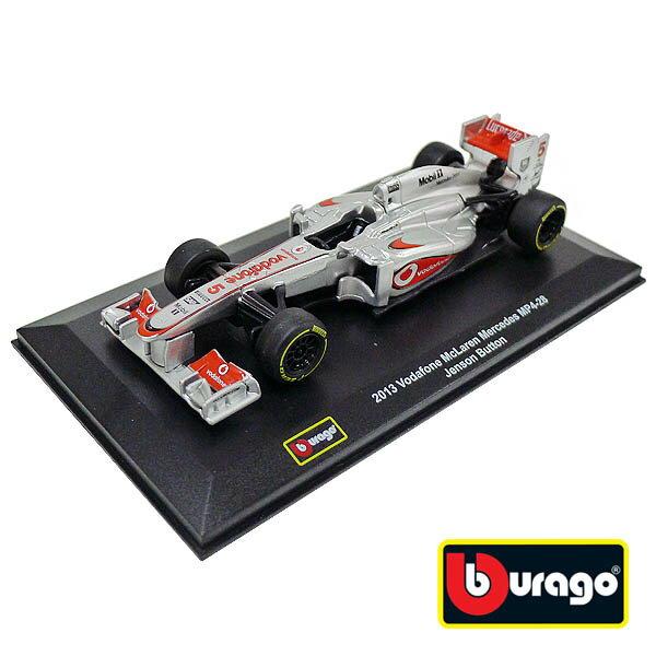 【Bburago 合金車】1:32 2013 Vodafone 麥拉倫賓士車隊 MP4-28 Jenson Button