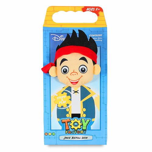 【迪士尼品牌授權】玩具製造工廠補充包-傑克與夢幻島海盜