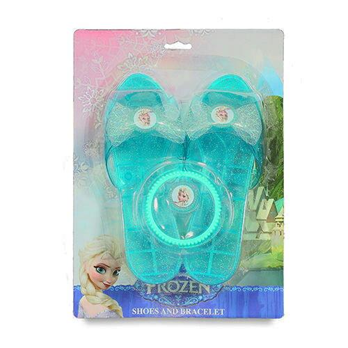 【Disney 品牌授權系列】冰雪奇緣美麗玻璃鞋組 BL82544