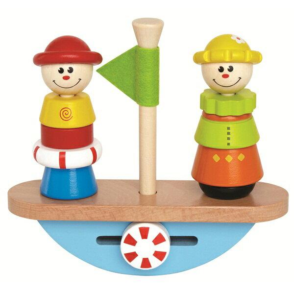【educo】小丑平衡船