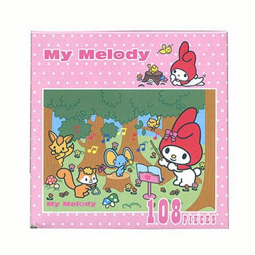 ~P2 拼圖~My Melody 拼圖-演奏篇 ^(108片^) SS0614b~200