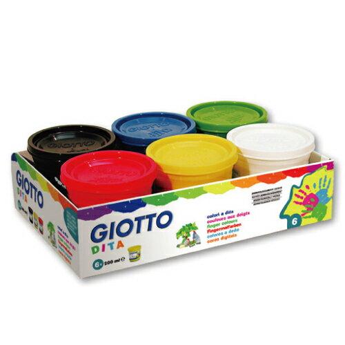 【義大利GIOTTO】幼兒安全手指膏(6色)200ml535000