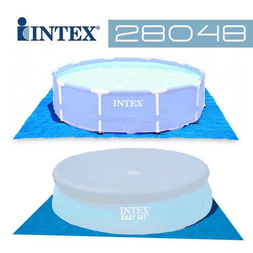 【INTEX】10尺豪華泳池墊28048